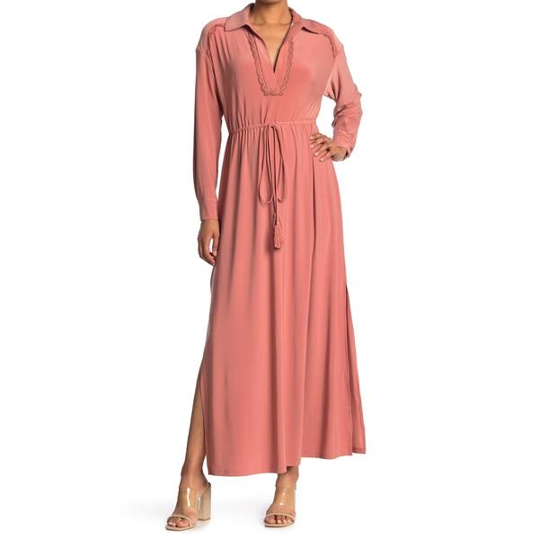 テイラー レディース トップス ワンピース DUSK ROSE 新生活 Shirt Dress Jersey Maxi 大規模セール 全商品無料サイズ交換 Solid