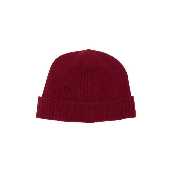 ポートラノ レディース アクセサリー 帽子 ASHTON 全商品無料サイズ交換 Cashmere 配送員設置送料無料 Beanie 驚きの値段 RED