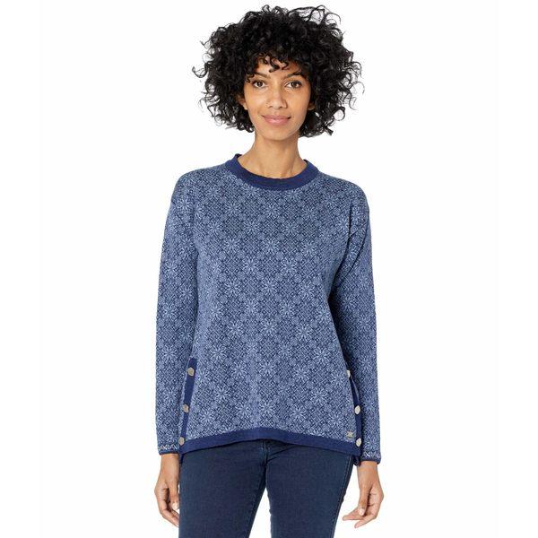 ダールオブノルウェイ アウター Shadow/Off-White ニット&セーター Sweater Symra Electric レディース Storm/Blue