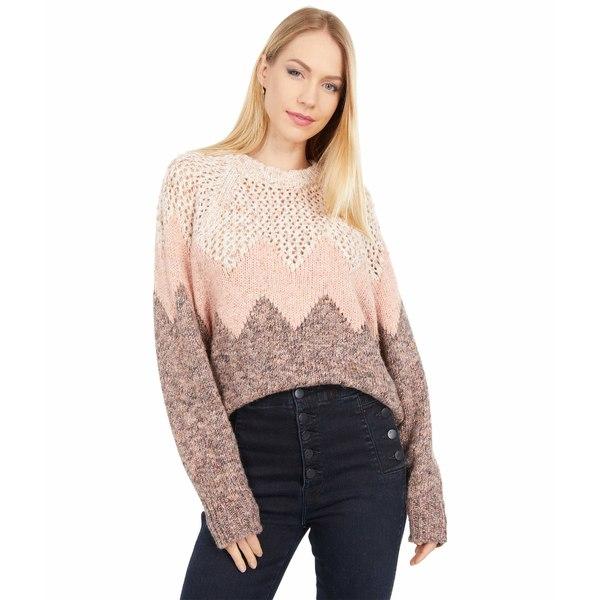Sweater Pink ニット&セーター ジョア Mikah Sand アウター レディース