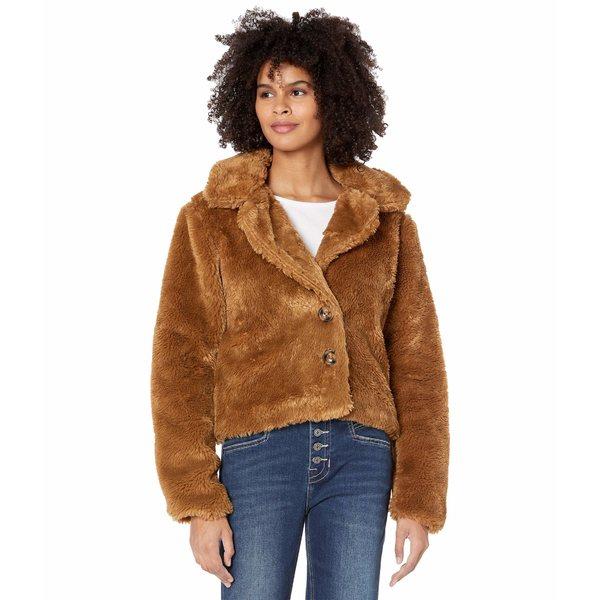 ロックアンドロールカウボーイ レディース アウター コート Golden Brown 52-6734 税込 Fur Jacket Faux 訳ありセール 格安 全商品無料サイズ交換