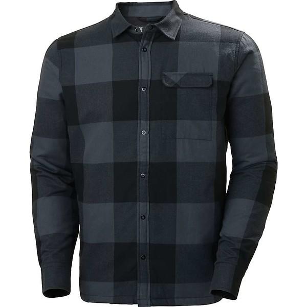 <title>ヘリーハンセン メンズ アウター ジャケット ブルゾン Black Plaid 全商品無料サイズ交換 Helly Hansen Men's Lifaloft Insulated Flannel Shirt オンライン限定商品</title>