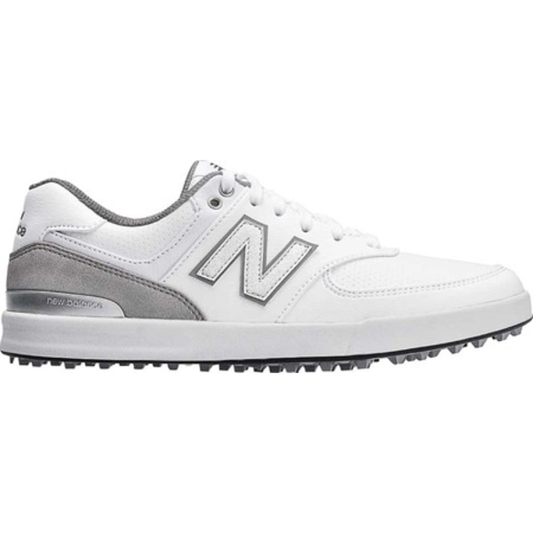 ニューバランス レディース スニーカー シューズ 574 Greens NBGW574 Waterproof Golf Shoe White Performance Mesh/Microfiber Leather