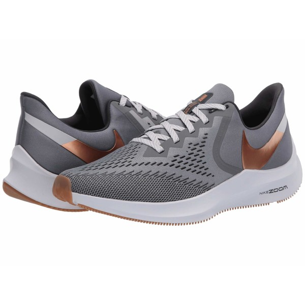 ナイキ メンズ スニーカー シューズ Air Zoom Winflo 6 Smoke Grey/Metallic Copper/Photon Dust