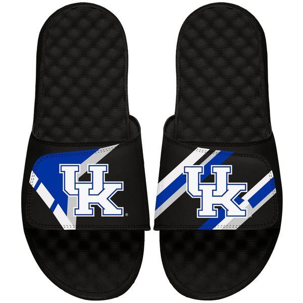 アイスライド メンズ サンダル シューズ Kentucky Wildcats ISlide Varsity Starter Jacket Slide Sandals Black