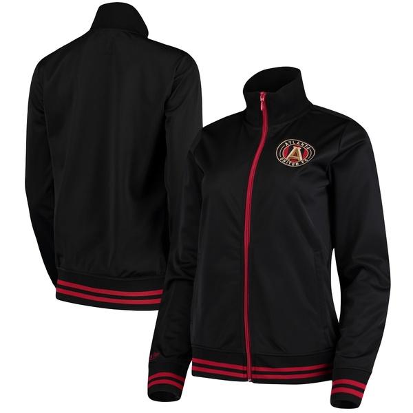 ミッチェル&ネス レディース ジャケット&ブルゾン アウター Atlanta United FC Mitchell & Ness Women's FullZip Track Jacket Black