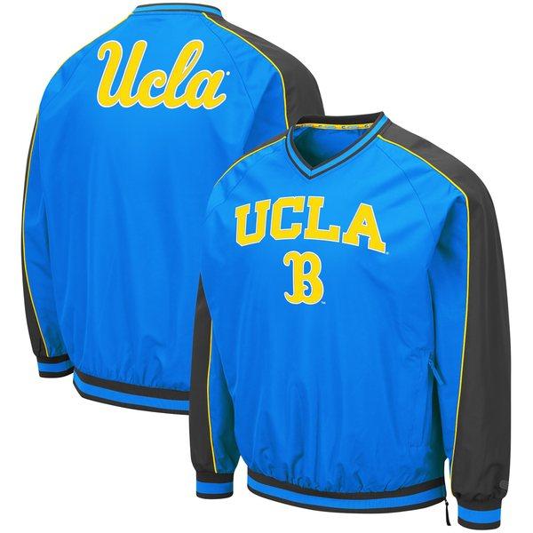 コロシアム メンズ ジャケット&ブルゾン アウター UCLA Bruins Colosseum Duffman Pullover Windbreaker Light Blue