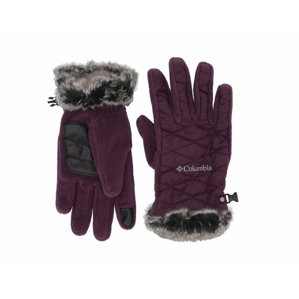コロンビア レディース 手袋 アクセサリー Heavenly Gloves Black Cherry