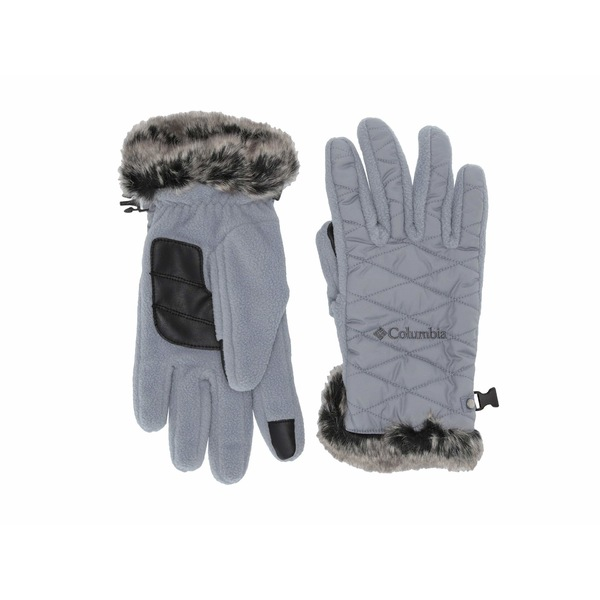 コロンビア レディース 手袋 アクセサリー Heavenly Gloves Tradewinds Grey