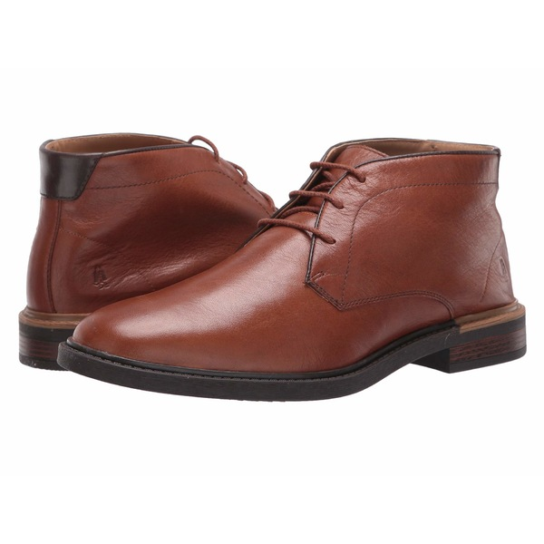ハッシュパピー メンズ ブーツ&レインブーツ シューズ Davis Chukka Boot Cognac Leather