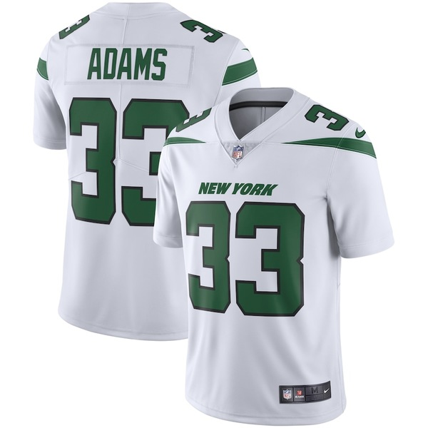 ナイキ メンズ シャツ トップス Jamal Adams New York Jets Nike Vapor Limited Jersey Spotlight White