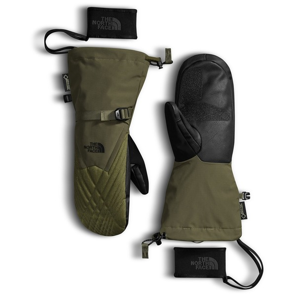 ノースフェイス レディース 手袋 アクセサリー The North Face Montana GORE-TEX Mittens - Women's Burnt Olive Green