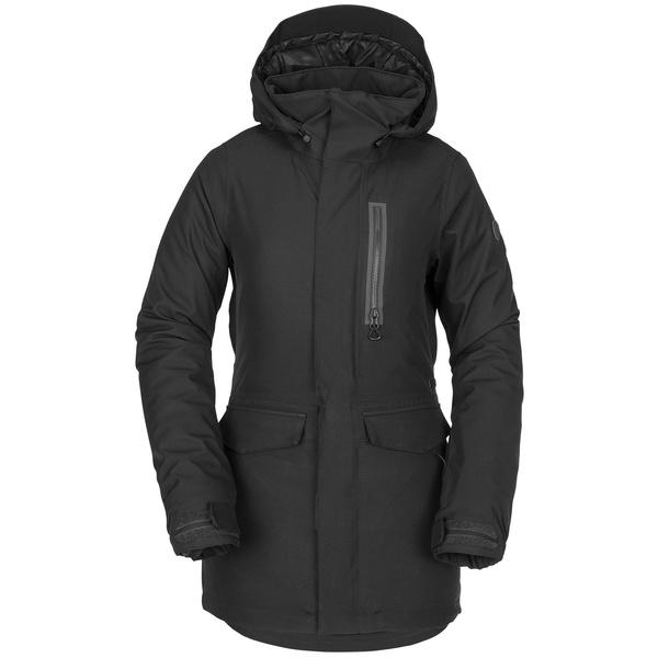 ボルコム レディース ジャケット&ブルゾン アウター Volcom Shelter 3D Stretch Jacket - Women's Black