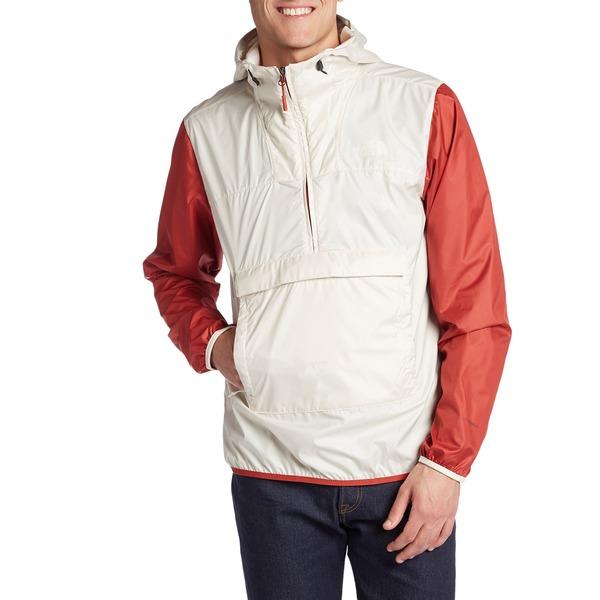 ノースフェイス メンズ ジャケット&ブルゾン アウター The North Face Fanorak Jacket Vintage White Multi