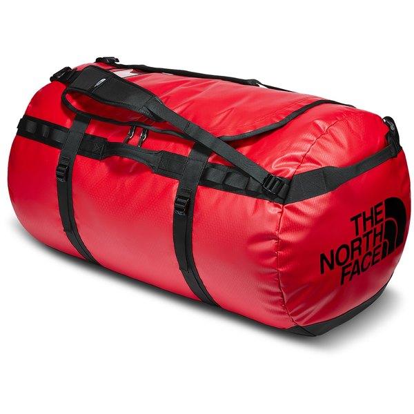 ノースフェイス メンズ バックパック・リュックサック バッグ The North Face Base Camp Duffel Bag - XXL TNF Red/TNF Black