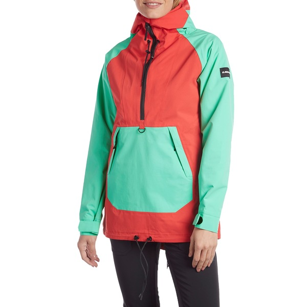 アルマダ レディース ジャケット&ブルゾン アウター Armada x evo Saint Pullover Jacket - Women's Hot Coral/Wintergreen