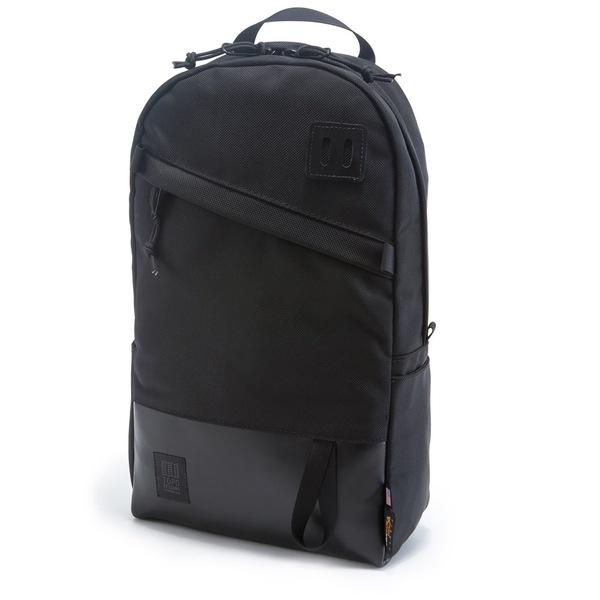 トポ・デザイン メンズ バックパック・リュックサック バッグ Topo Designs Daypack Backpack Ballistic Black/Black