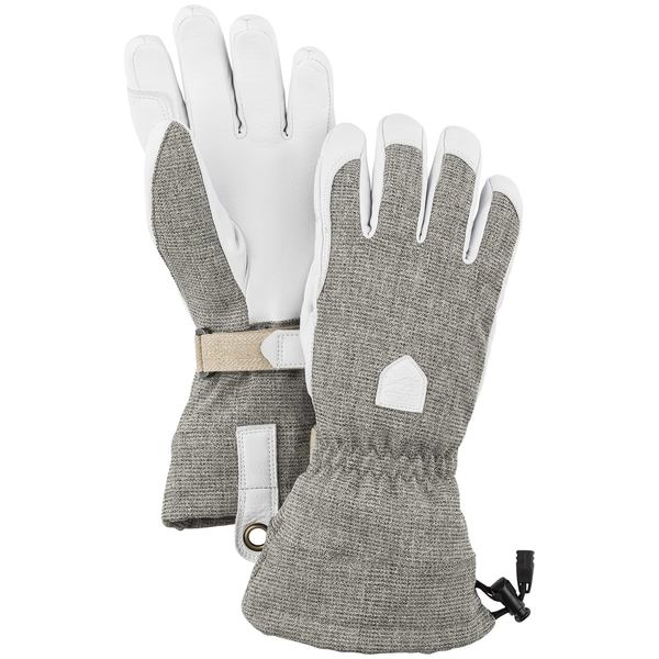 ヘストラ レディース 手袋 アクセサリー Hestra Patrol Gauntlet Gloves - Women's Light Grey