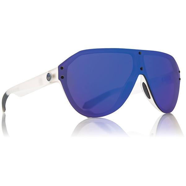 ドラゴン メンズ サングラス・アイウェア アクセサリー Dragon DS1 Two Sunglasses Matte Clear/Blue Ion