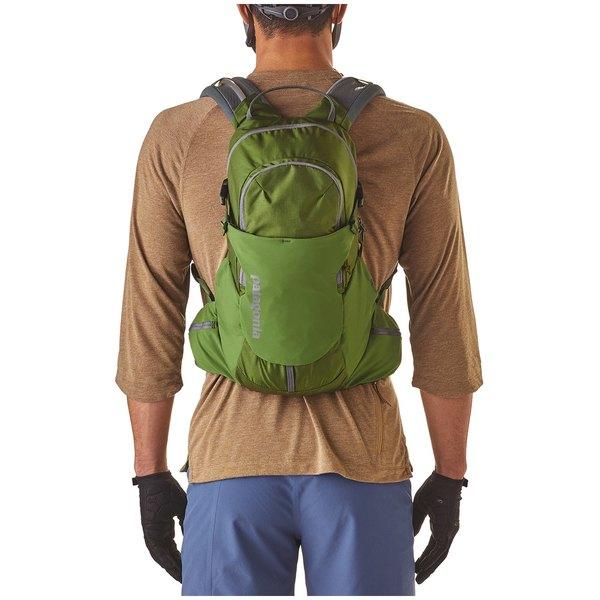 パタゴニア メンズ バックパック・リュックサック バッグ Patagonia Nine Trails 14L Backpack Sprouted Green