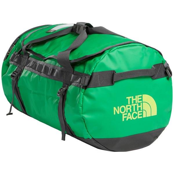 ノースフェイス メンズ バックパック・リュックサック バッグ The North Face Base Camp Duffel Bag - L Primary Green/Asphalt Grey