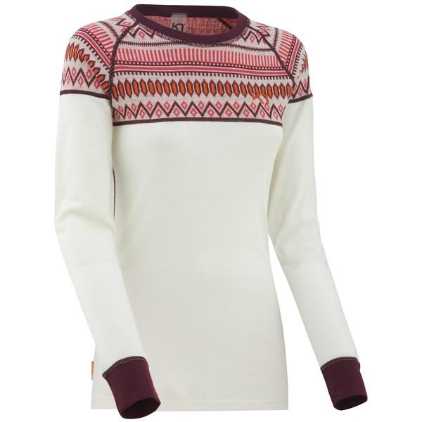 カリトラ レディース カットソー トップス Kari Traa Lkke Long-Sleeve Shirt - Women's NWhite