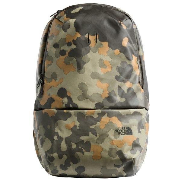 ノースフェイス メンズ バックパック・リュックサック バッグ The North Face BTTFB Backpack New Taupe Green Macrofleck Print/TNF Black