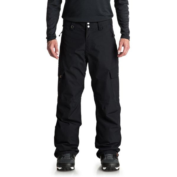 クイックシルバー メンズ カジュアルパンツ ボトムス Quiksilver Porter Shell Pants Black