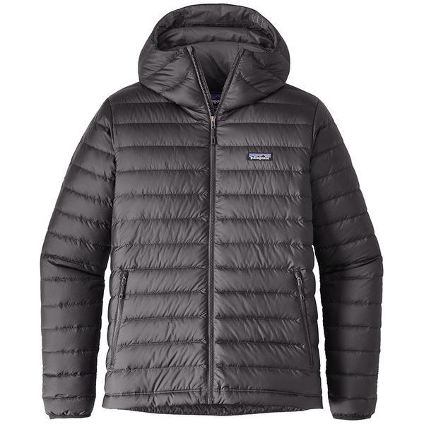 パタゴニア メンズ ニット&セーター アウター Patagonia Down Sweater Hoodie Forge Grey