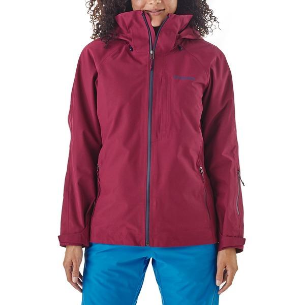パタゴニア レディース ジャケット&ブルゾン アウター Patagonia Insulated Powder Bowl Jacket - Women's Arrow Red