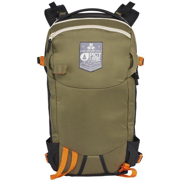 ピクニックオーガニック メンズ バックパック・リュックサック バッグ Picture Organic Calgary 26L Backpack Khaki