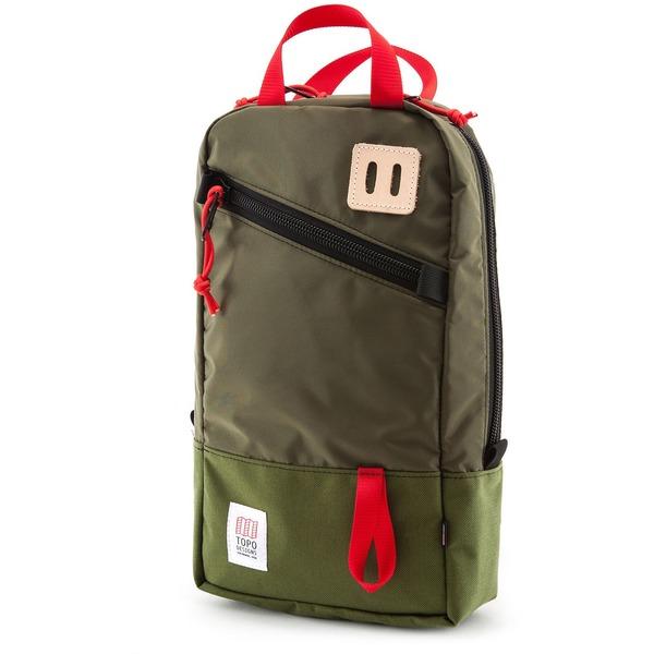 トポ・デザイン メンズ バックパック・リュックサック バッグ Topo Designs Trip Backpack Olive