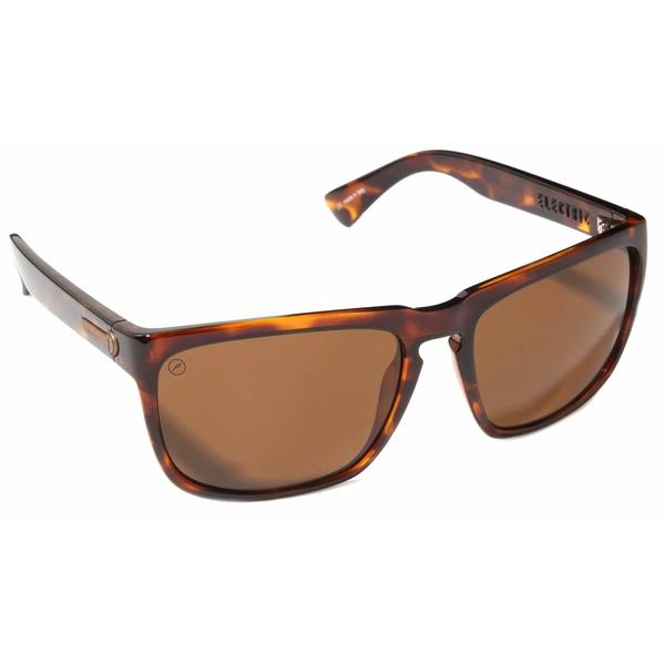 エレクトリック メンズ サングラス・アイウェア アクセサリー Electric Knoxville XL Sunglasses Gloss Tort/Ohm Polarized Bronze
