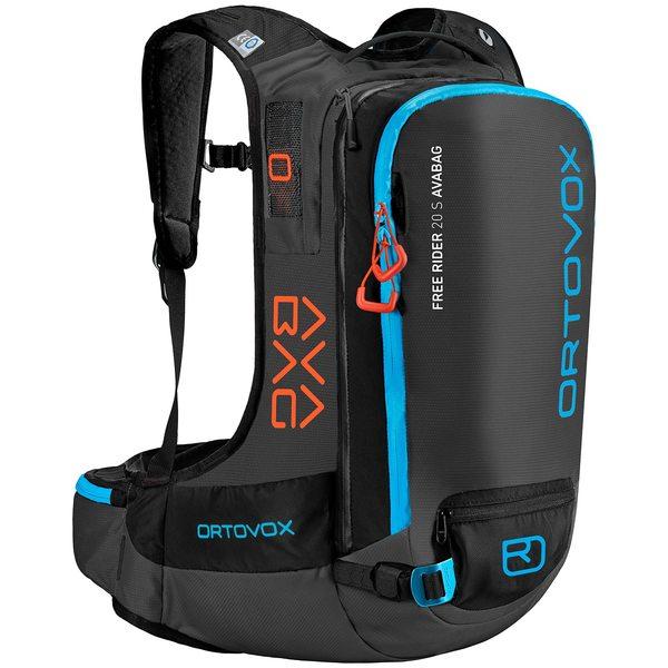オルトボックス メンズ バックパック・リュックサック バッグ Ortovox Free Rider 20L S Avabag Airbag Pack Black Anthracite
