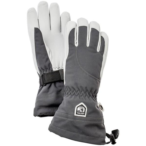 ヘストラ レディース 手袋 アクセサリー Hestra Heli Gloves - Women's Grey/Off White