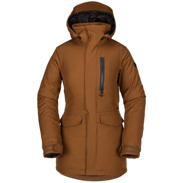 ボルコム レディース ジャケット&ブルゾン アウター Volcom Shelter 3D Stretch Jacket - Women's Copper