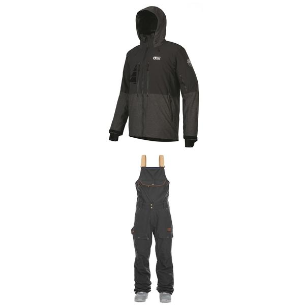 ピクニックオーガニック メンズ ジャケット&ブルゾン アウター Picture Organic Goods Jacket + Picture Organic Yakoumo 2 Bibs null