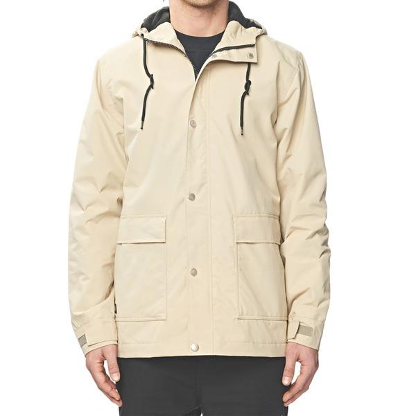グローブ メンズ ジャケット&ブルゾン アウター Globe Goodstock Utility Jacket Sand