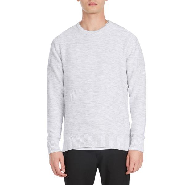 ゼインローブ メンズ ニット&セーター アウター Zanerobe Tube Crew Knit Sweater Bleach Marle