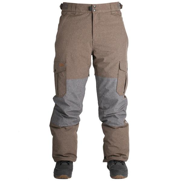 ライド メンズ カジュアルパンツ ボトムス Ride Phinney Insulated Pants Brown Melange