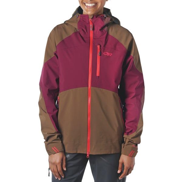 アウトドアリサーチ レディース ジャケット&ブルゾン アウター Outdoor Research Hemispheres Jacket - Women's Carob