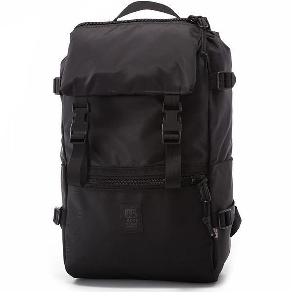 トポ・デザイン メンズ バックパック・リュックサック バッグ Topo Designs Rover Backpack Ballistic Black