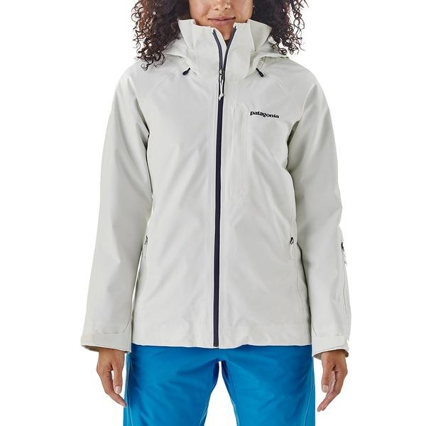 パタゴニア レディース ジャケット&ブルゾン アウター Patagonia Insulated Powder Bowl Jacket - Women's Birch White