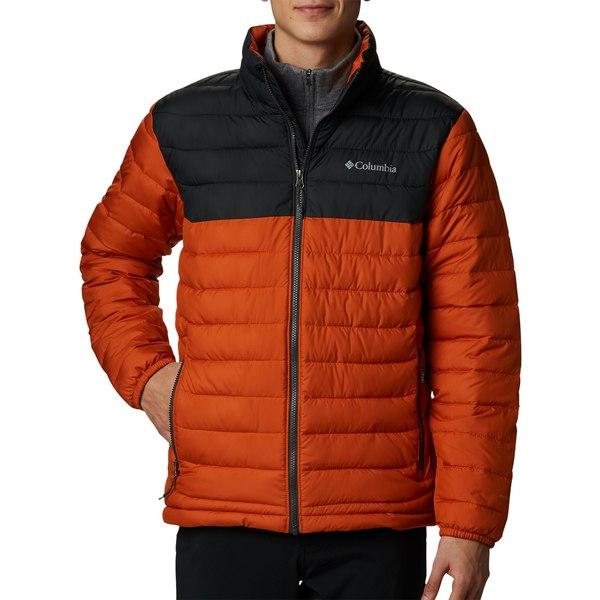 コロンビア メンズ ジャケット&ブルゾン アウター Columbia Men's Powder Lite Insulated Jacket RedJasper