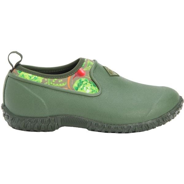 ムックブーツ レディース スニーカー シューズ Muck Boots Women's Muckster II Low Casual Shoes Green/VeggiePrint