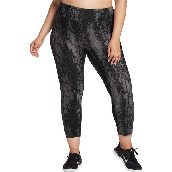 カリア レディース カジュアルパンツ ボトムス CALIA by Carrie Underwood Women's Plus Size Energize Printed 7/8 Leggings BreezyPalmShark