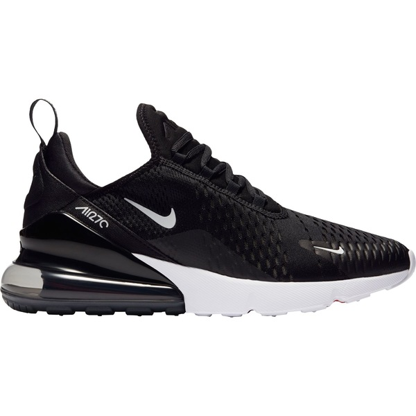 ナイキ メンズ スニーカー シューズ Nike Men's Air Max 270 Shoes Black/White/MetallicGold