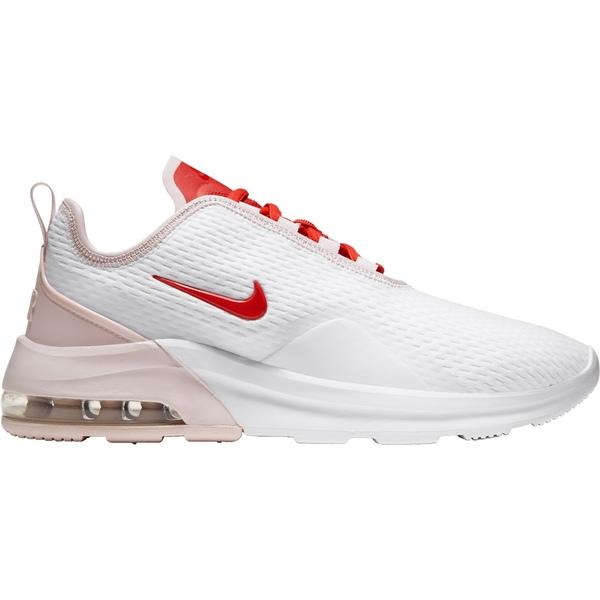 ナイキ レディース スニーカー シューズ Nike Women's Air Max Motion 2 Shoes White/Black/FirePink