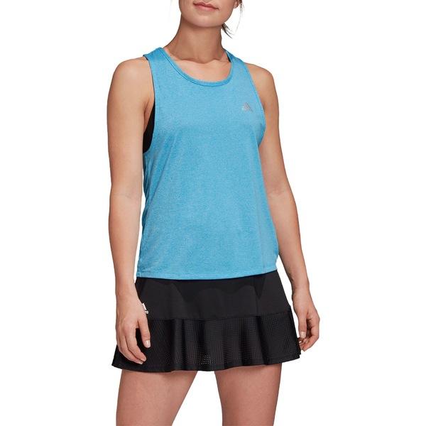 アディダス レディース シャツ トップス adidas Women's Club Tieback Tennis Tank White/MatteSilver