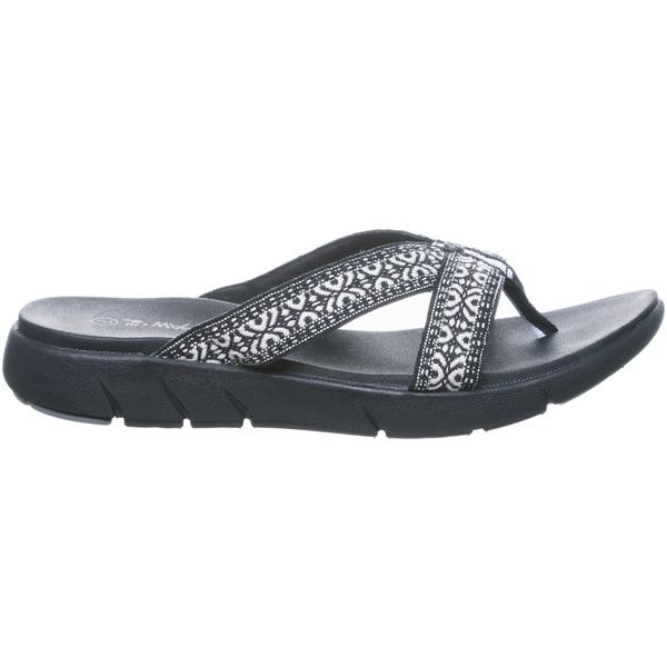 ベアパウ レディース サンダル シューズ BEARPAW Women's Juniper Sandals Chocolate